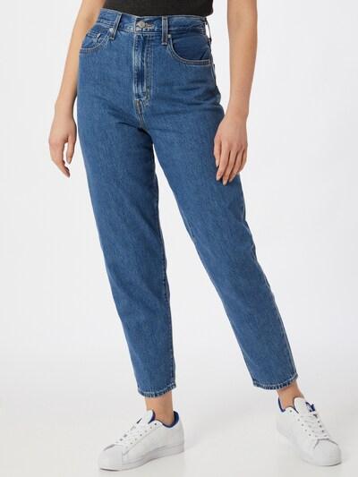 LEVI'S Jean 'High Loose Taper' en bleu denim, Vue avec modèle