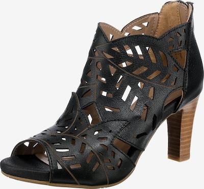 Laura Vita Sandalette in schwarz, Produktansicht