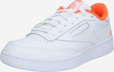 Reebok Classic Sneaker in orange / weiß, Produktansicht
