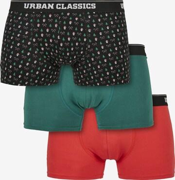 Urban Classics Boxershorts i blå