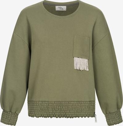 Cotton Candy Sweatpullover 'PATRICIA' in grün, Produktansicht