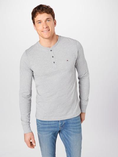 TOMMY HILFIGER Shirt in graumeliert: Frontalansicht