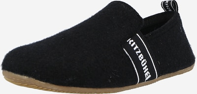 Living Kitzbühel Mājas apavi, krāsa - melns / balts, Preces skats