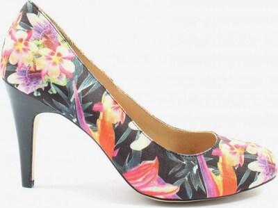 Pier One High Heels in 41 in pastellgelb / pink / schwarz, Produktansicht