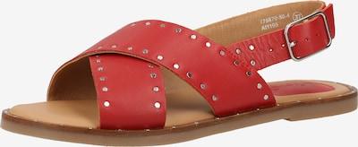 KICKERS Sandalen met riem in de kleur Rood, Productweergave