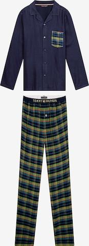 TOMMY HILFIGER Pyjama in Blau