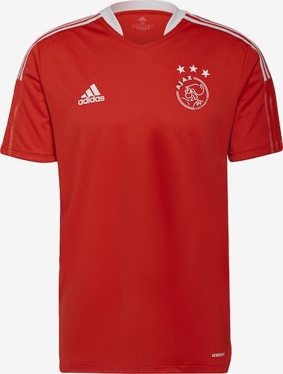ADIDAS PERFORMANCE Trikot 'Ajax Tiro' in rot / weiß, Produktansicht