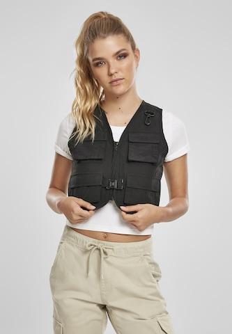 Urban Classics Vest in Black