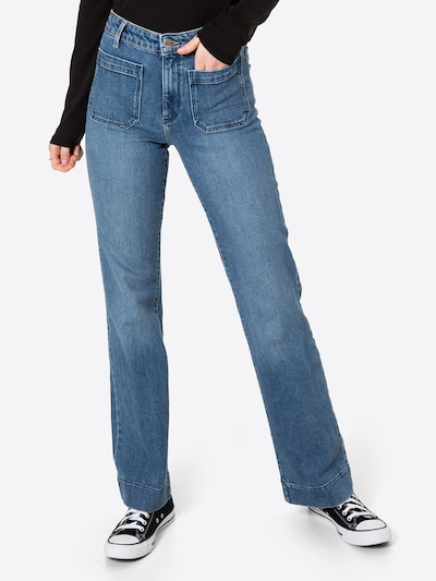 WRANGLER Jeans in de kleur Blauw denim, Modelweergave