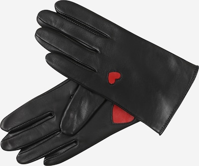 Roeckl Full Finger Gloves 'Tuileries Touch' in Red / Black, Item view