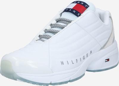 Sneaker bassa 'Heritage' Tommy Jeans di colore grigio / bianco: Vista frontale
