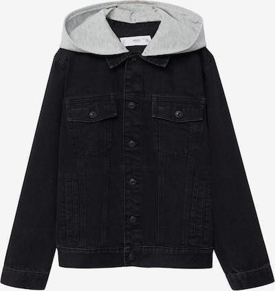 MANGO KIDS Přechodná bunda 'Misty' - šedý melír / černá, Produkt