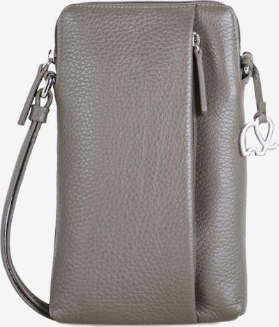 mywalit Cremona Umhängetasche Leder 12 cm in grau, Produktansicht