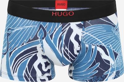 HUGO Boxershorts in de kleur Smoky blue / Nachtblauw / Zwart, Productweergave
