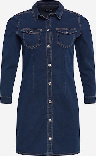 PIECES (Curve) Košulja haljina 'ILIA' u plavi traper, Pregled proizvoda
