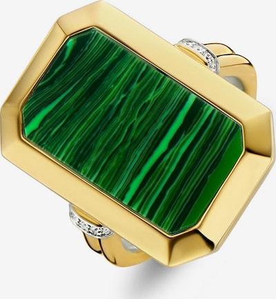 Ti Sento Milano Ring in Gold / Green, Item view