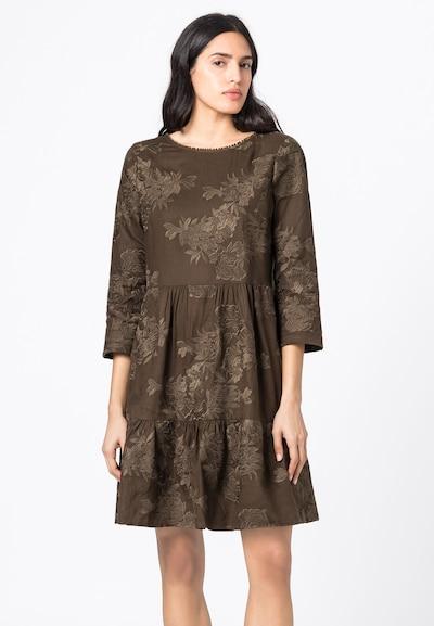 HALLHUBER Kleid in braun, Modelansicht