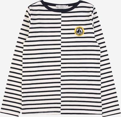 PETIT BATEAU Shirt 'MARINIERE' in gelb / graphit / weiß, Produktansicht