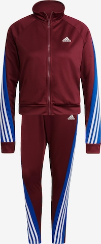 ADIDAS PERFORMANCE Tracksuit in Red