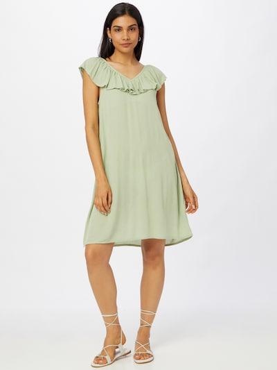 ICHI Kleid in hellgrün, Modelansicht