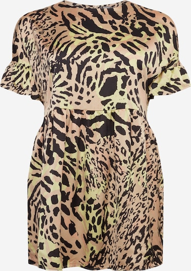 Missguided Plus Šaty 'Leopard' - mix barev, Produkt