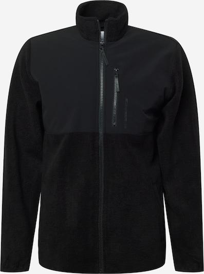 Jachetă  fleece 'Koy' JUST JUNKIES pe negru, Vizualizare produs