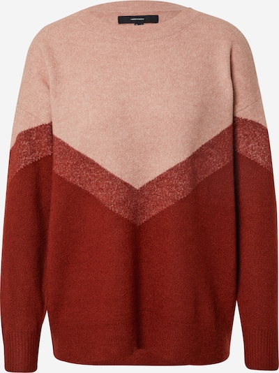 VERO MODA Pullover 'Gingo' in altrosa / rot / blutrot, Produktansicht