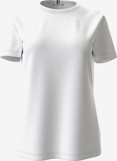 TOMMY HILFIGER Тениска 'TH COOL ESS RELAXED C-NK TEE SS' в бяло, Преглед на продукта