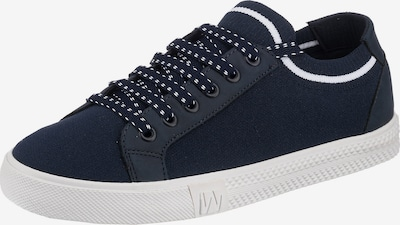 Westland Sneaker 'Swan' in navy / weiß, Produktansicht