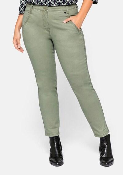 SHEEGO Hose in khaki, Modelansicht