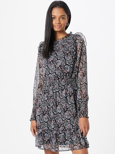 ONLY Kleid 'ASTA' in blau / lila / rot / schwarz / weiß, Modelansicht