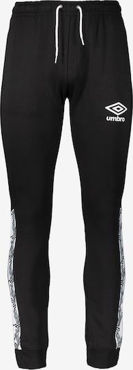 UMBRO Jogginghose in schwarz / weiß, Produktansicht