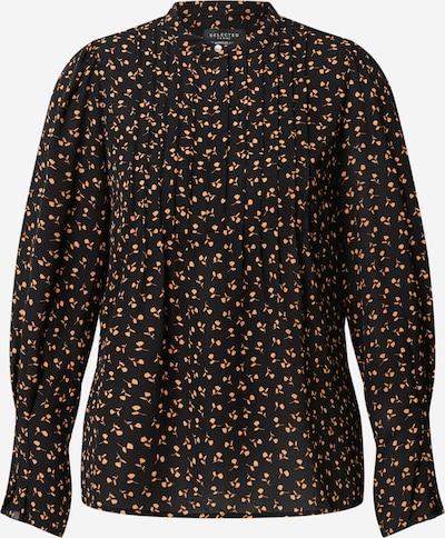 SELECTED FEMME Bluse 'Livia' in gelb / schwarz, Produktansicht