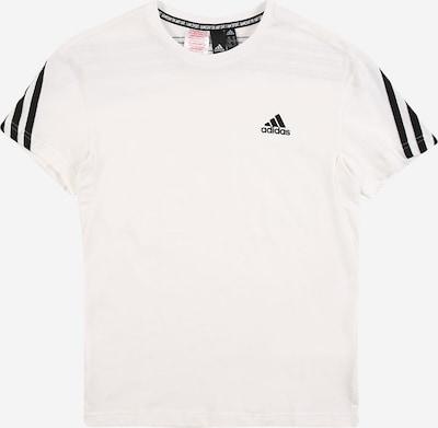 ADIDAS PERFORMANCE T-Shirt in schwarz / naturweiß, Produktansicht