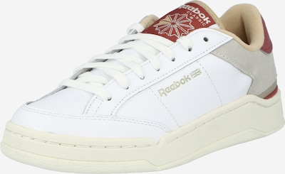 Reebok Classic Sneakers low 'Ad Court' in light grey / burgundy / white, Item view