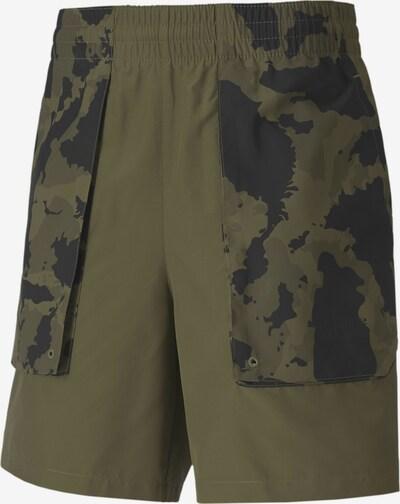 PUMA PUMA x FIRST MILE Herren Running Gewebte Shorts in khaki, Produktansicht