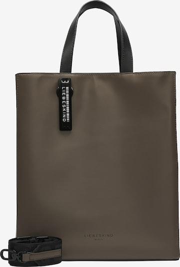 Liebeskind Berlin Paper Bag Tasche aus Leder in braun, Produktansicht