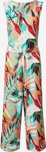 MORE & MORE Jumpsuit en beige claro / jade / verde pastel / rosa / rojo carmesí, Vista del producto
