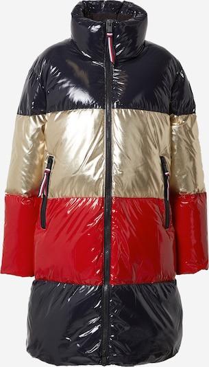 TOMMY HILFIGER Zimski kaput u tamno plava / zlatna / crvena, Pregled proizvoda