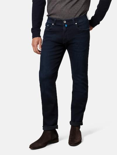 PIERRE CARDIN Jeans 'Lyon' in navy / türkis / schwarz, Modelansicht