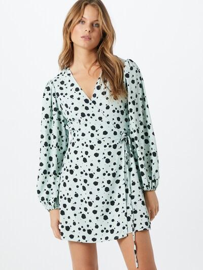 GLAMOROUS Kleid in mint / schwarz, Modelansicht