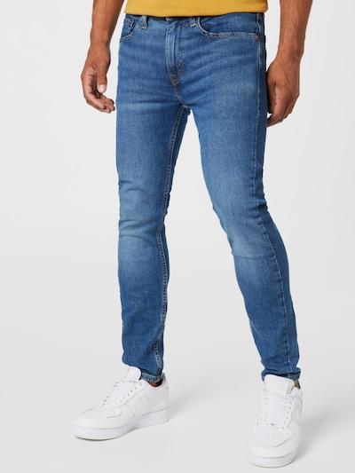 LEVI'S Jeans i blue denim, Modelvisning
