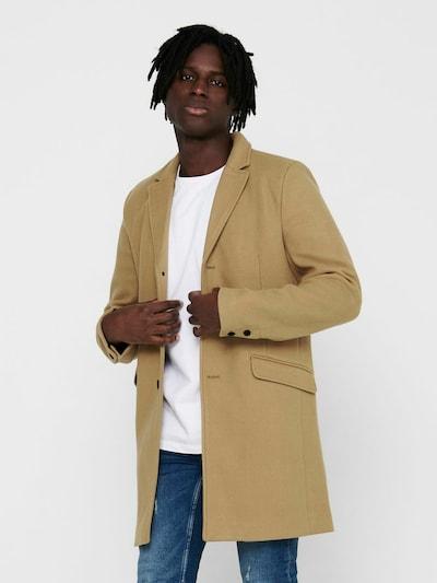 Only & Sons Tussenjas in de kleur Bruin, Modelweergave