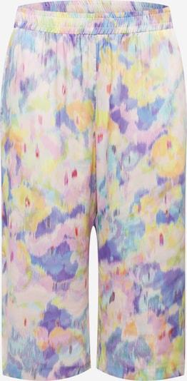 River Island Plus Pantalon en mélange de couleurs / rose clair, Vue avec produit