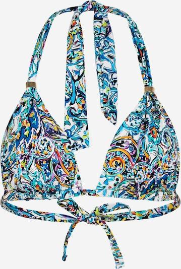 Lauren Ralph Lauren Bikinitop in de kleur Blauw / Wit, Productweergave