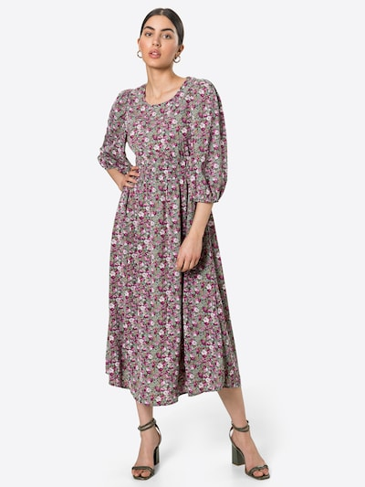 VILA Kleid 'SINDEA' in mint / beere / helllila / rosa, Modelansicht