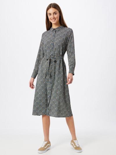 JACQUELINE de YONG Košeľové šaty 'PIPER' - modrá / žltá / čierna, Model/-ka