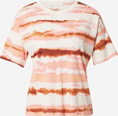 TOM TAILOR DENIM T-Shirt in beige / mischfarben, Produktansicht