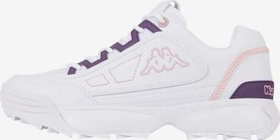 KAPPA Sneaker in flieder / weiß, Produktansicht