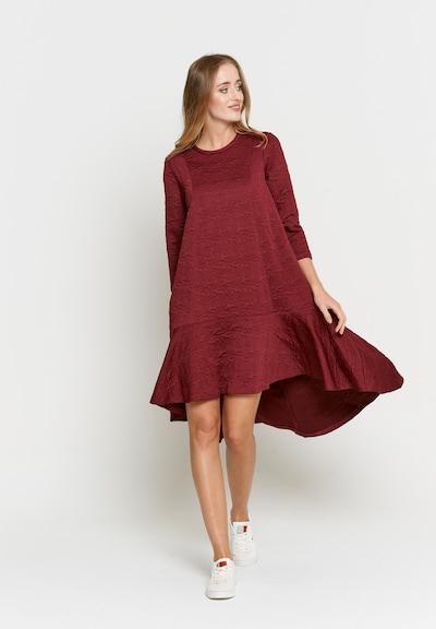 Madam-T Kleid 'Mia' in rot, Modelansicht